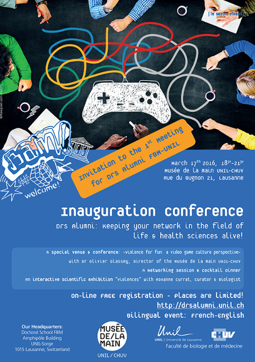 Past Event: inauguration conference on March 17th 2016