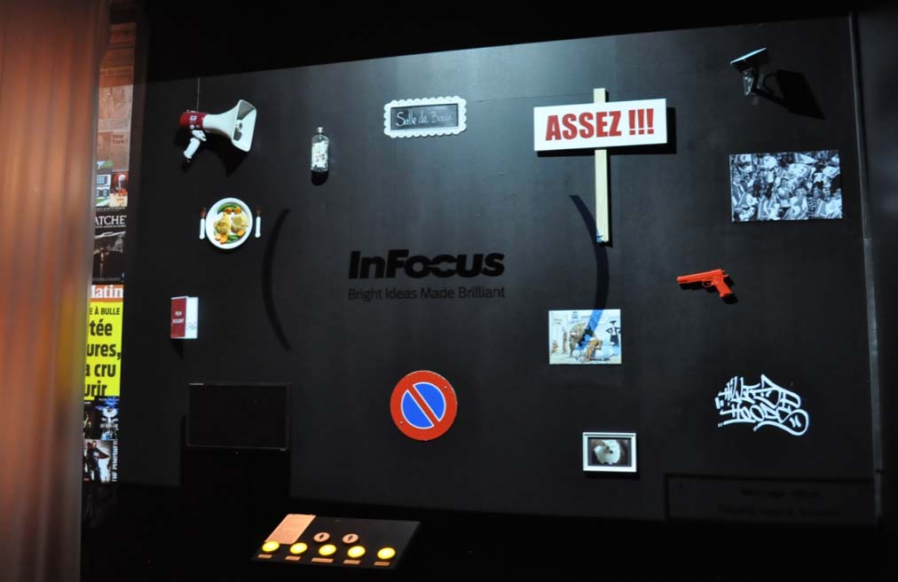 "The interactive scientific exhibition ""Violences"""